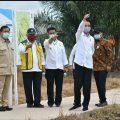 Presiden Jokowi didampingi Mentan SYL Tinjau Food Estate di Kapuas