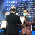 Berhasil Tingkatkan Pelayanan, PT Jamkrindo Raih Dua Penghargaan GRC Award 2020
