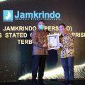 PT Jamkrindo Raih Penghargaan Terbaik Emerging Stated Owned Enterprise di Anugerah BUMN 2020