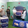AICE Donasikan Satu Juta Masker untuk Penanganan Covid-19 ke BNPB