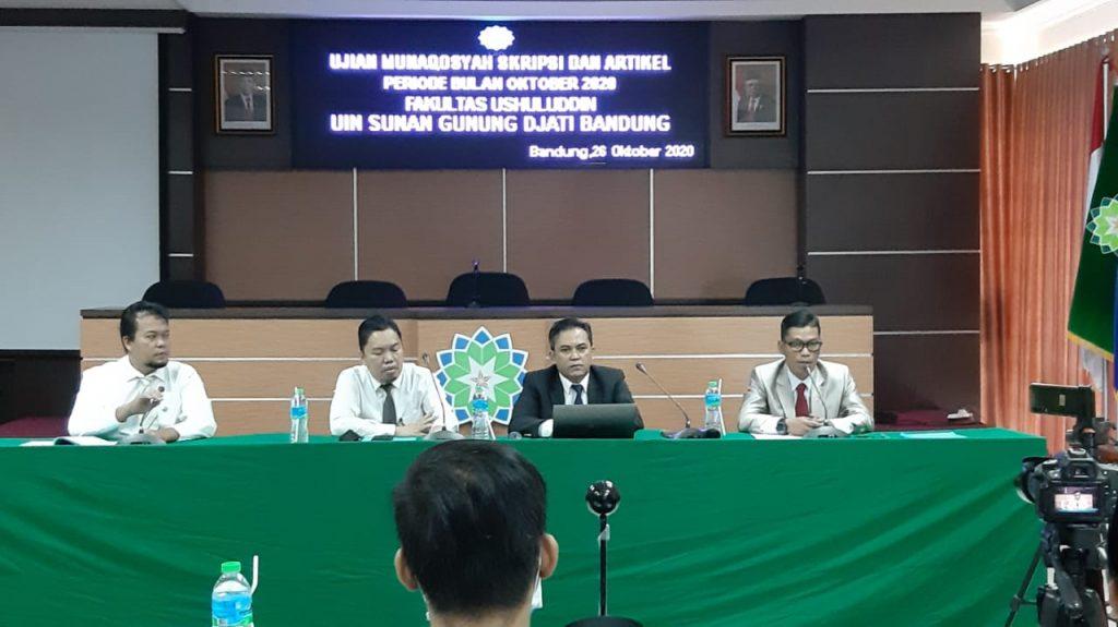 Ushuluddin UIN Bandung Gelar Munaqasyah Artikel Jurnal ...
