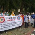 Ratusan Nasabah Bumiputera Geruduk Kantor OJK Tuntut Pembayaran Klaim