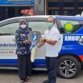 Jamkrindo Serahkan Bantuan Ambulans untuk Masyarakat di Cirebon