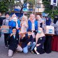 Peringati Hari Buruh, Mahasiswa Staiindo Jakarta Gelar Sosial Donasi Untuk Berbagi