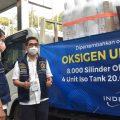 Indika Energy Group Donasikan 8 Ribu Silinder Oksigen Dukung Pemulihan Pandemi Covid-19