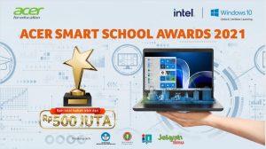Penghargaan Berskala Nasional Acer Smart School Awards 2021