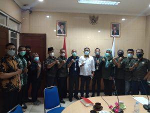 Dewan Pimpinan Wilayah Garda Buruh Migran Indonesia (DPW Garda BMI) Jawa Barat melakukan pertemuan Unit Pelaksana Teknis (UPT) Badan Pelindungan Pekerja Migran Indonesia (BP2MI) Jawa Barat dalam rangka senergitas Perlindungan Pekerja Migran Indonesia dan Penyelamatan Pekerja Migran Indonesia (PMI) yang bermasalah di Luar Negeri pada Senin, (20/9/2021).